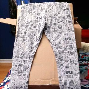 Girls sz 8 Carter's Grey leggings